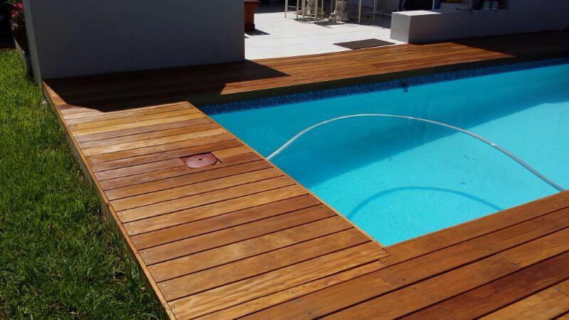 timber decking installer Garapa Pinelands 2